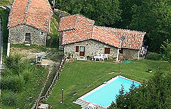 Lucca farm house with pool